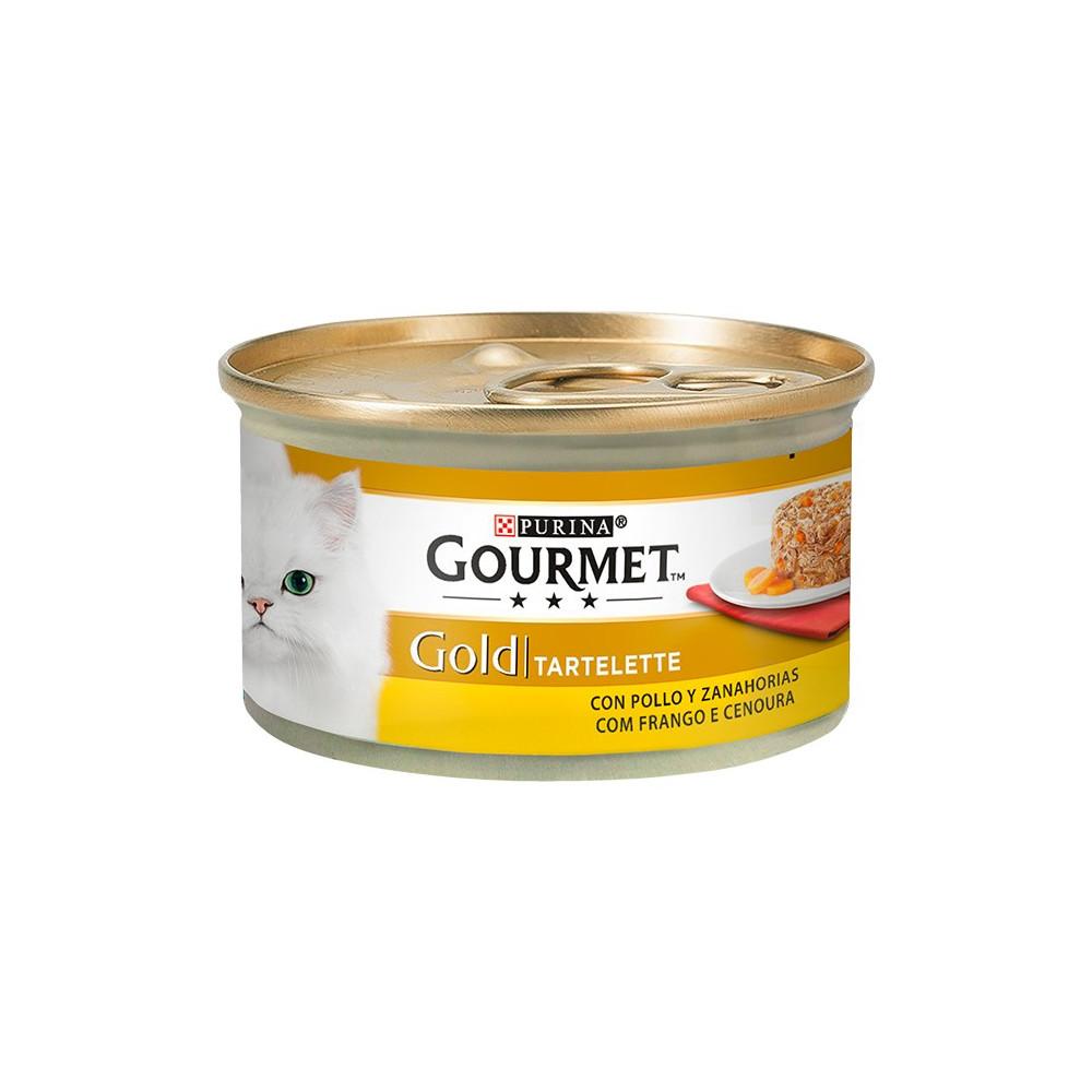 Gourmet Gold Tartelette - Frango e Cenoura 85gr