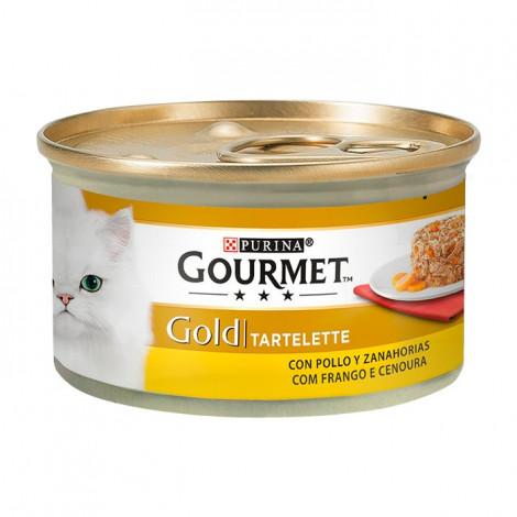Gourmet Gold Tartelette - Frango e Cenoura