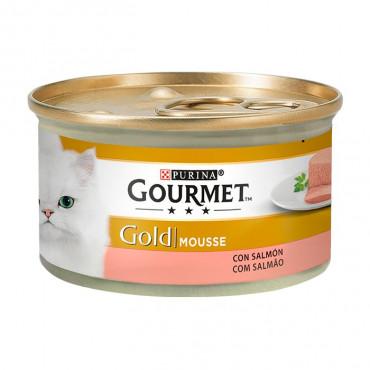 Gourmet Gold Salmão 85gr (Mousse)