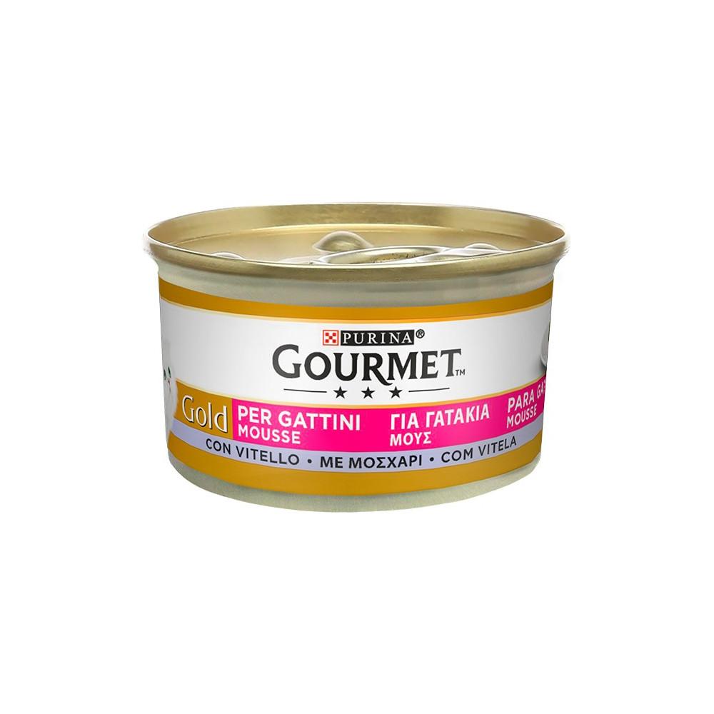 Gourmet Gold Kitten Vitela 85gr (Mousse)