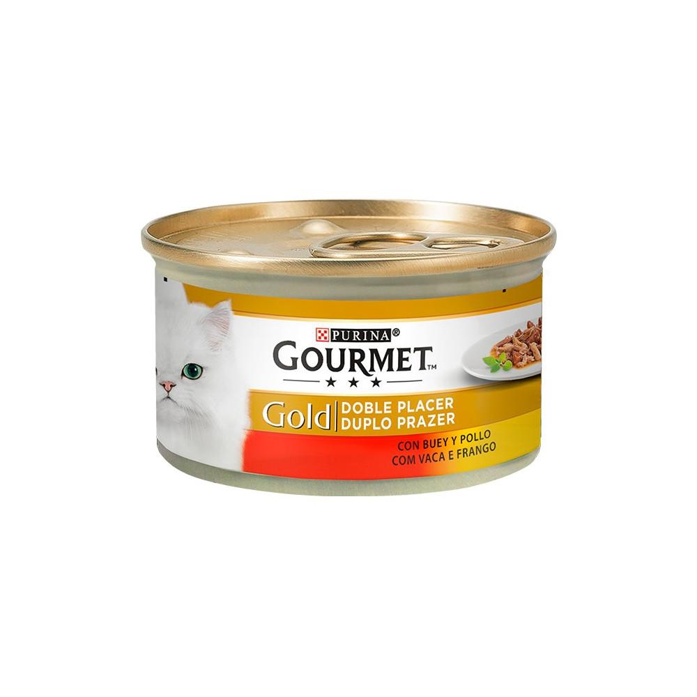 Gourmet Gold Vaca & Frango 85gr (Duplo Prazer)