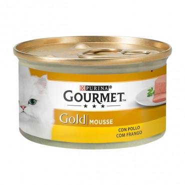 Gourmet Gold Frango 85gr (Mousse)