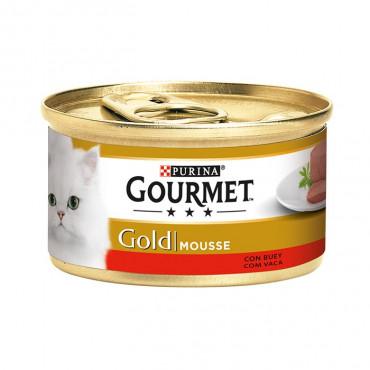 Gourmet Gold Carne de Vaca 85gr (Mousse)