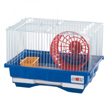 Jaula Hamster nº1 - 30x23x21cm