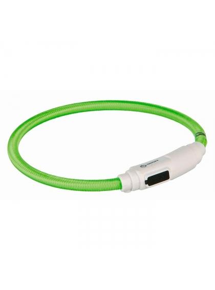 Colar Luminoso FLASH LIGHT USB p/ Gatos