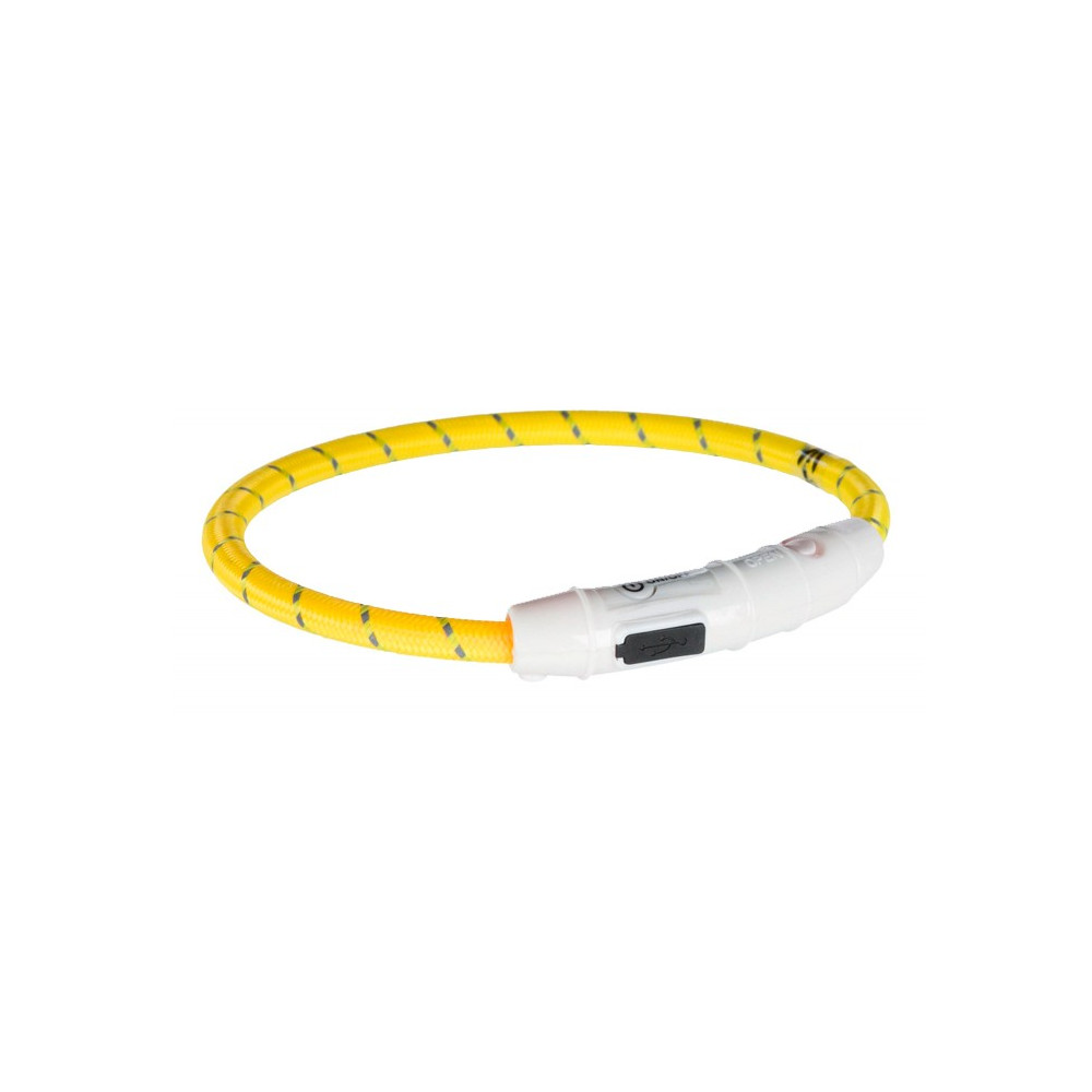 Colar Luminoso FLASH LIGHT USB