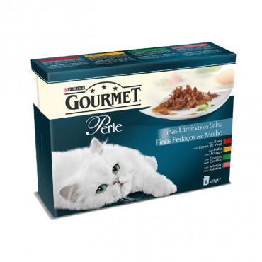 Gourmet Perle - Finos Pedaços em Molho 8x85gr