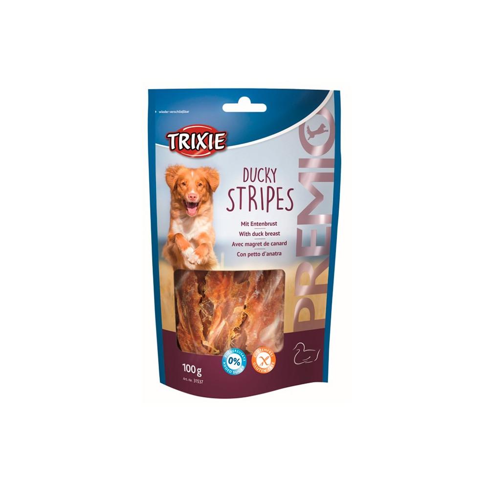 DUCKY STRIPES - Snack c/ Filete Peito de Pato 100gr