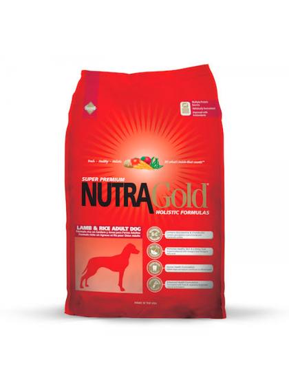 NutraGold Cão Adulto - Cordeiro e arroz
