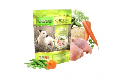 NATURES MENU Húmida Cão Frango com verduras e arroz