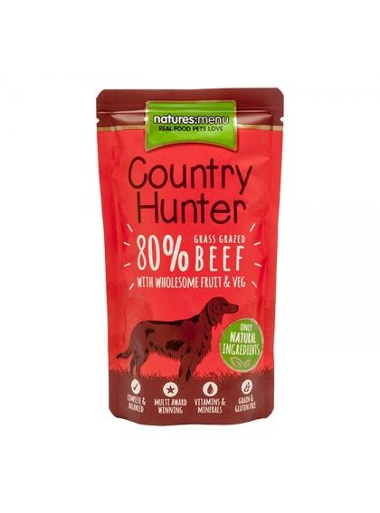 NATURES MENU HÚMIDA COUNTRY HUNTER CÃO Carne de vaca