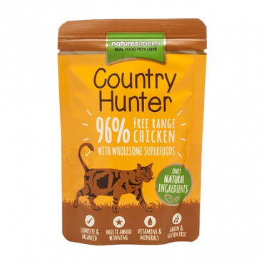 Natures Menu Country Hunter Alimento húmido para gato - Frango