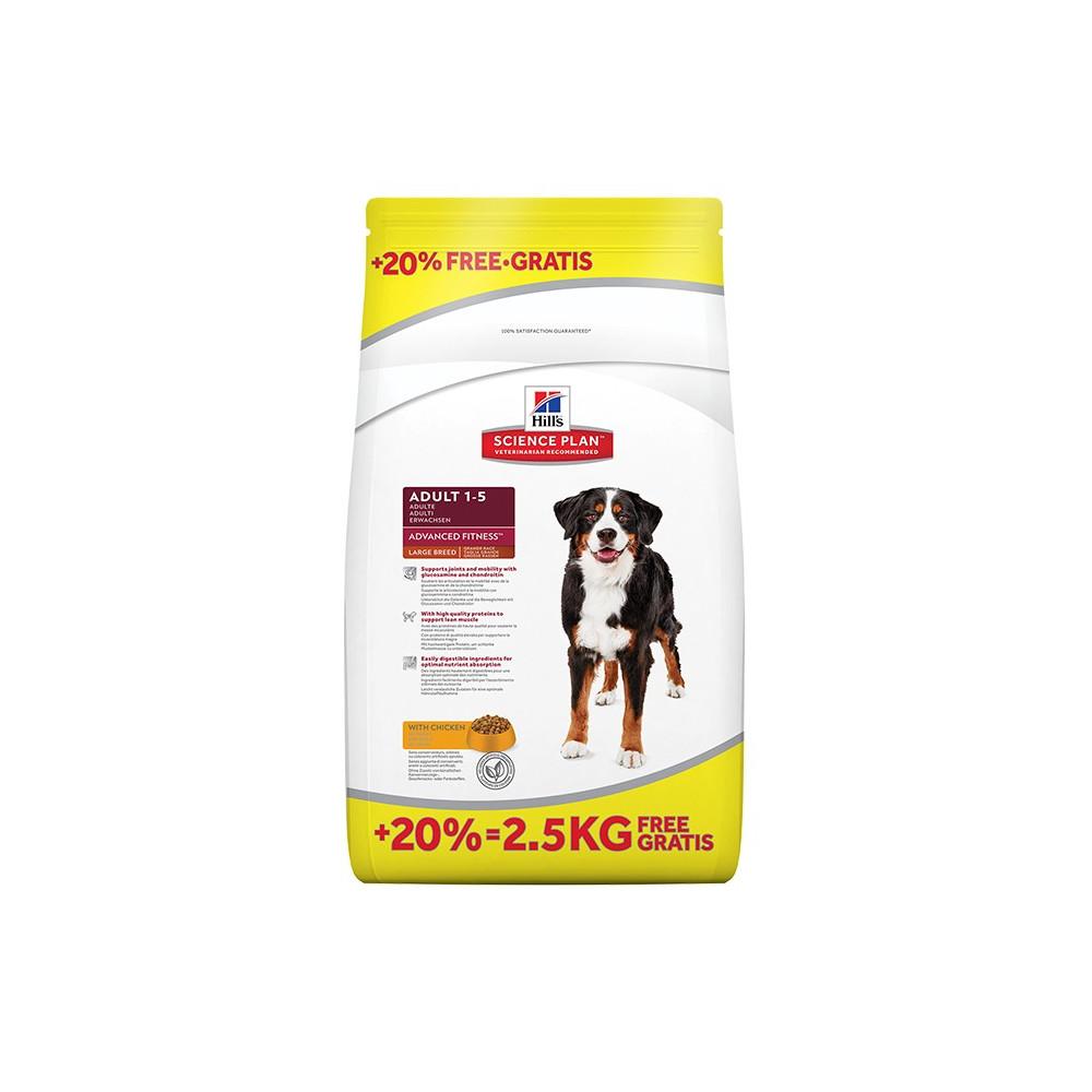 Hill's - Canine Adult Large Breed Frango 12kg + 2kg OFERTA