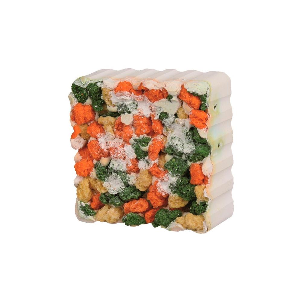 Bloco Mineral c/ Croquetes Vegetais p/ Roedores
