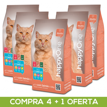 happyOne - Gato Salmão 10Kg