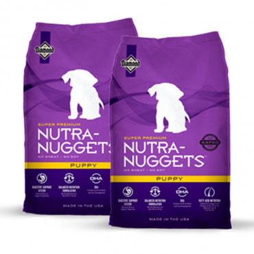 2 Sacos Nutra Nuggets - Puppy 15Kg