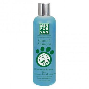 Men for San Champô Talco Eliminador de Odores para cão