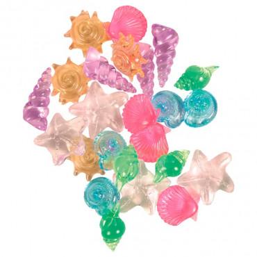Moluscos Coloridos para Aquário