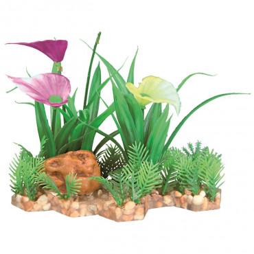 Planta Plástica em Leito de Areão