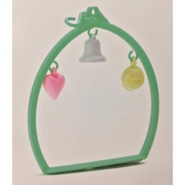 Baloiço em Plástico Ovalado