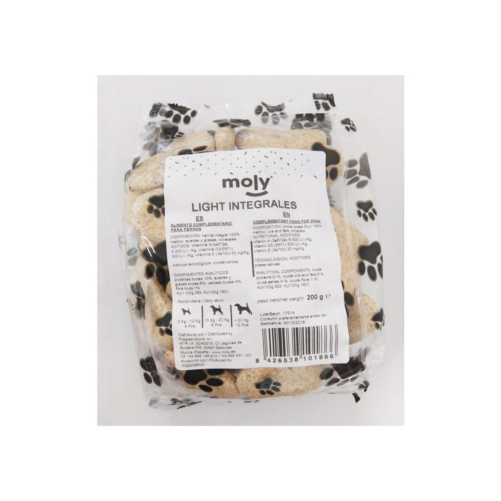 Moly - Biscoitos Integrais Light