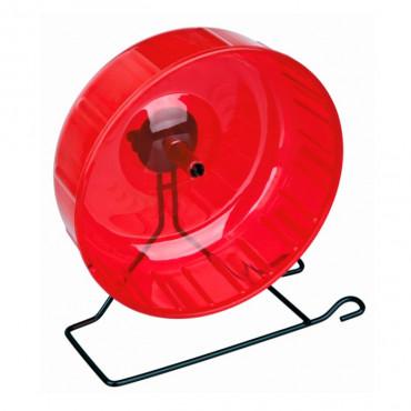 Roda em Plástico c/ Suporte p/ Roedores