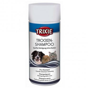 Trixie Champô seco em pó para cão, gato e roedores