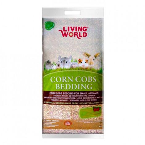 Living World - Cubetos de milho (Morango)
