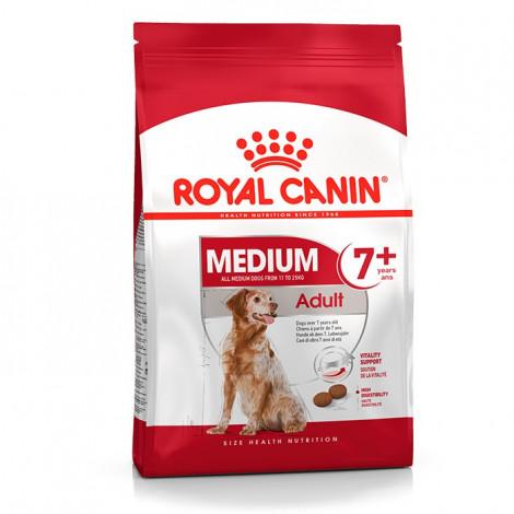 Ração para cão Royal Canin Medium Adulto 7+