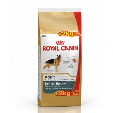 Royal Canin - Pastor Alemão 12Kg + 2Kg OFERTA