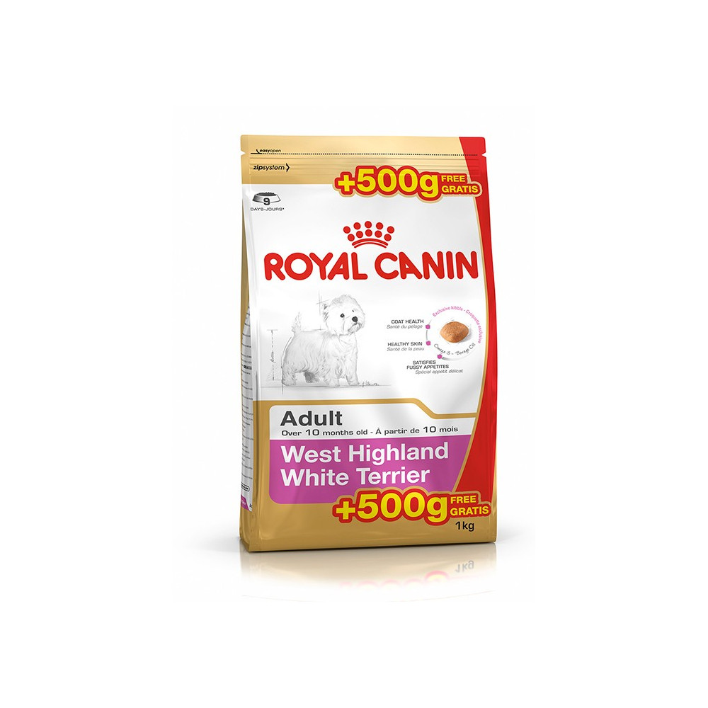 Royal Canin - West Highland White Terrier 500gr + 500gr