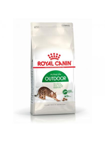 Ração para gato Royal Canin Outdoor 2Kg