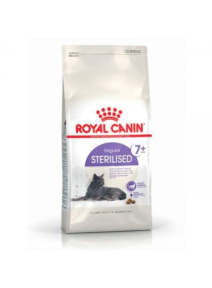 Ração para gato Royal Canin Sterilised 7+