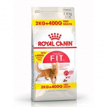 Royal Canin Cat - Fit 2kg + 400gr