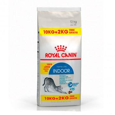 Royal Canin Cat - Indoor 10kg + 2kg