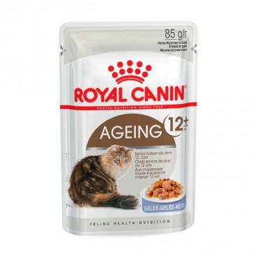 Ração para gato Royal Canin Wet Ageing 12+ Jelly