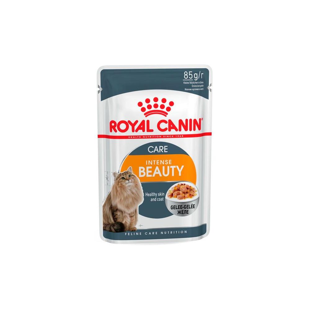 Ração para gato Royal Canin Wet Intense Beauty Jelly