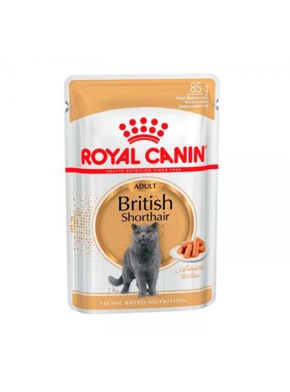 Ração para gato Royal Canin Wet British Shorthair