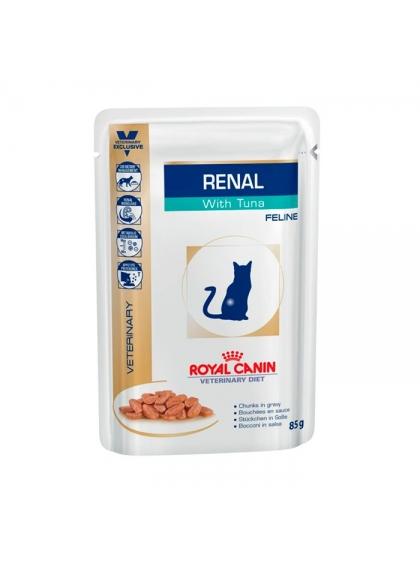 Ração para gato Royal Canin Wet Renal Tuna