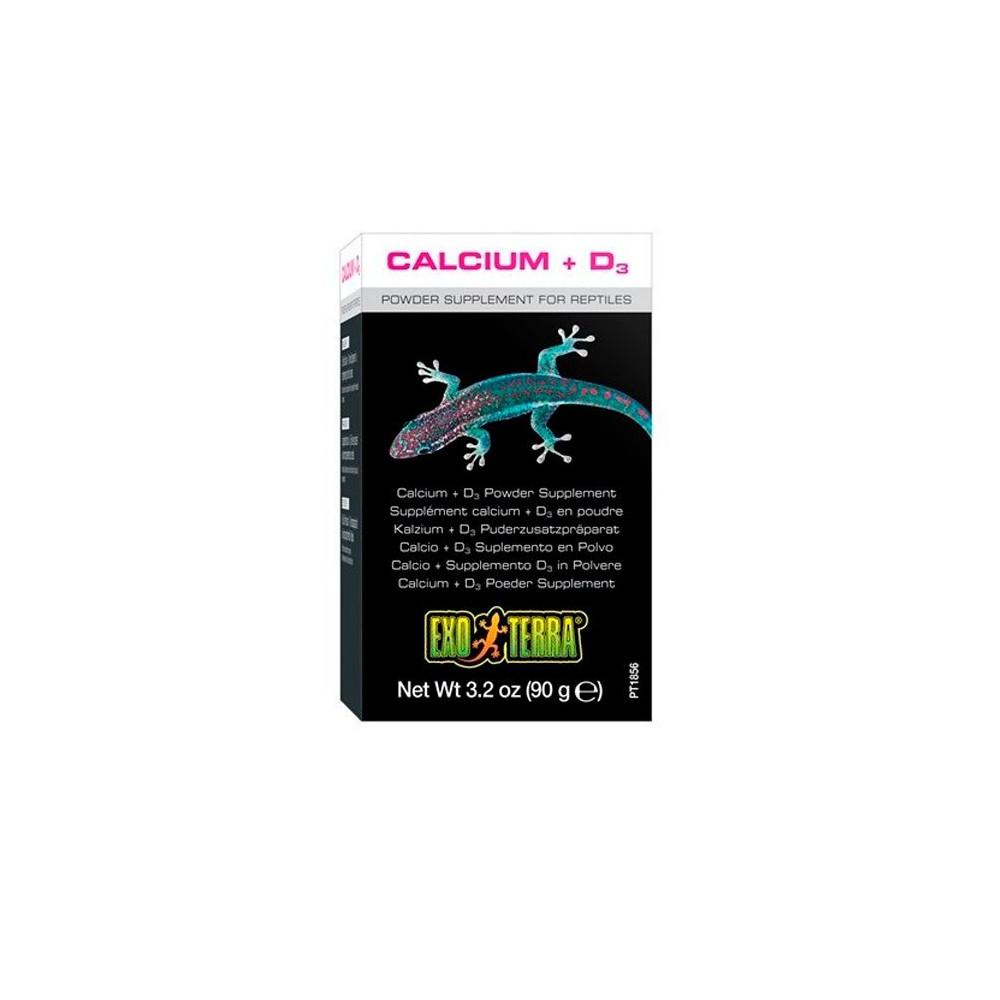 Exo Terra Cálcio + Vitamina D3 90gr