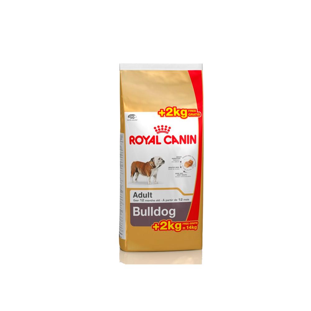 Royal Canin - Bulldog 12Kg + 2Kg OFERTA