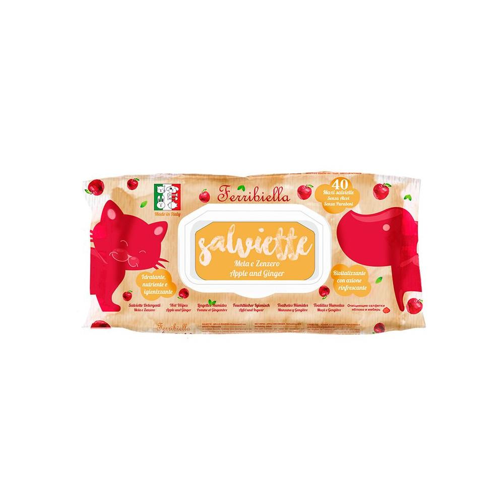 Toalhitas Salviette Apple and Ginger 40uni.