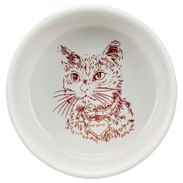 Gamela Simples em Porcelana