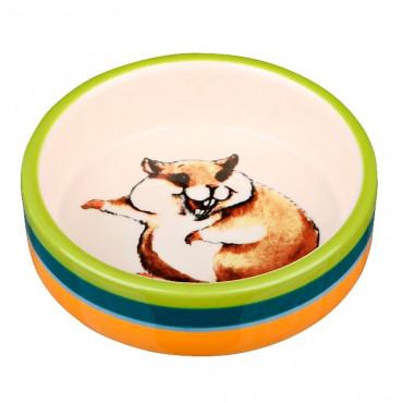 Gamela em Cerâmica p/ Hamsters