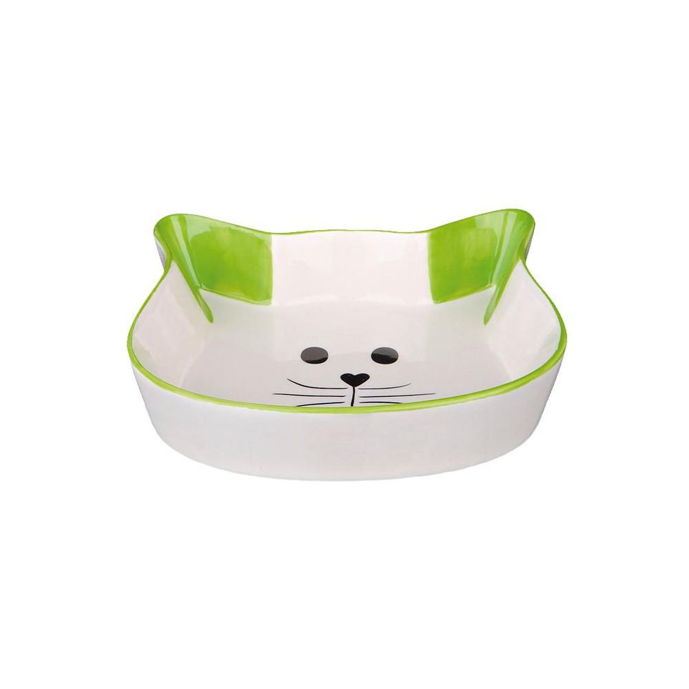 Gamela em Cerâmica (Cara de Gato)