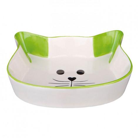 Gamela em Cerâmica (Cara de Gato) ⵘ