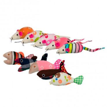 Ratos e Peixes em Peluche