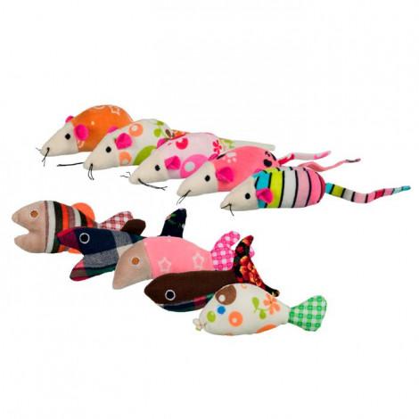 Ratos e Peixes em Peluche ⵘ
