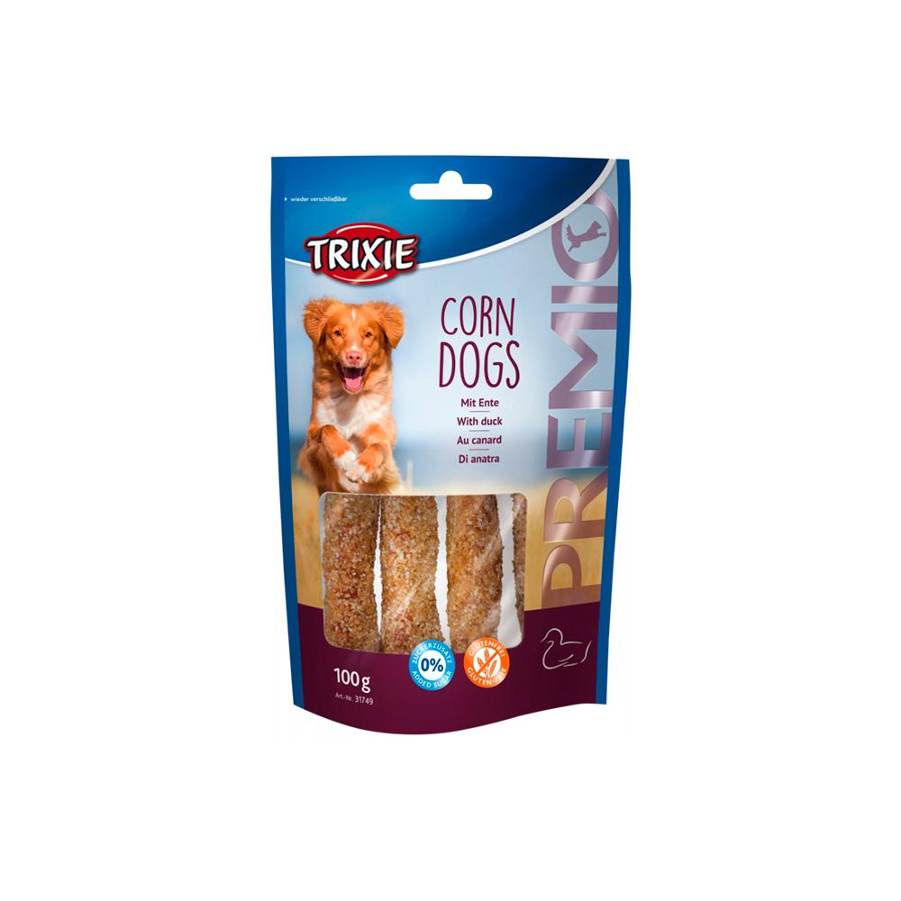 PREMIO Corn Dogs (com Pato e Pele/Couro)