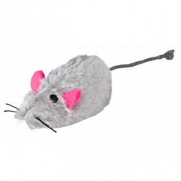 Ratinhos de Peluche Pêlo Longo c/ Som